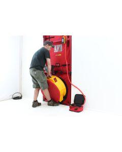 Installing a 5000 blower door