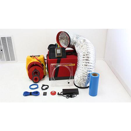Preparing to setup 300 Series DucTester