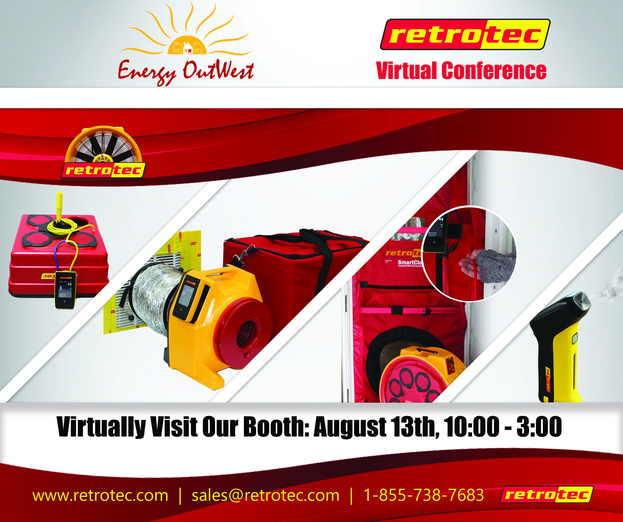 Retrotec Our Virtual Booth for Energy OutWest