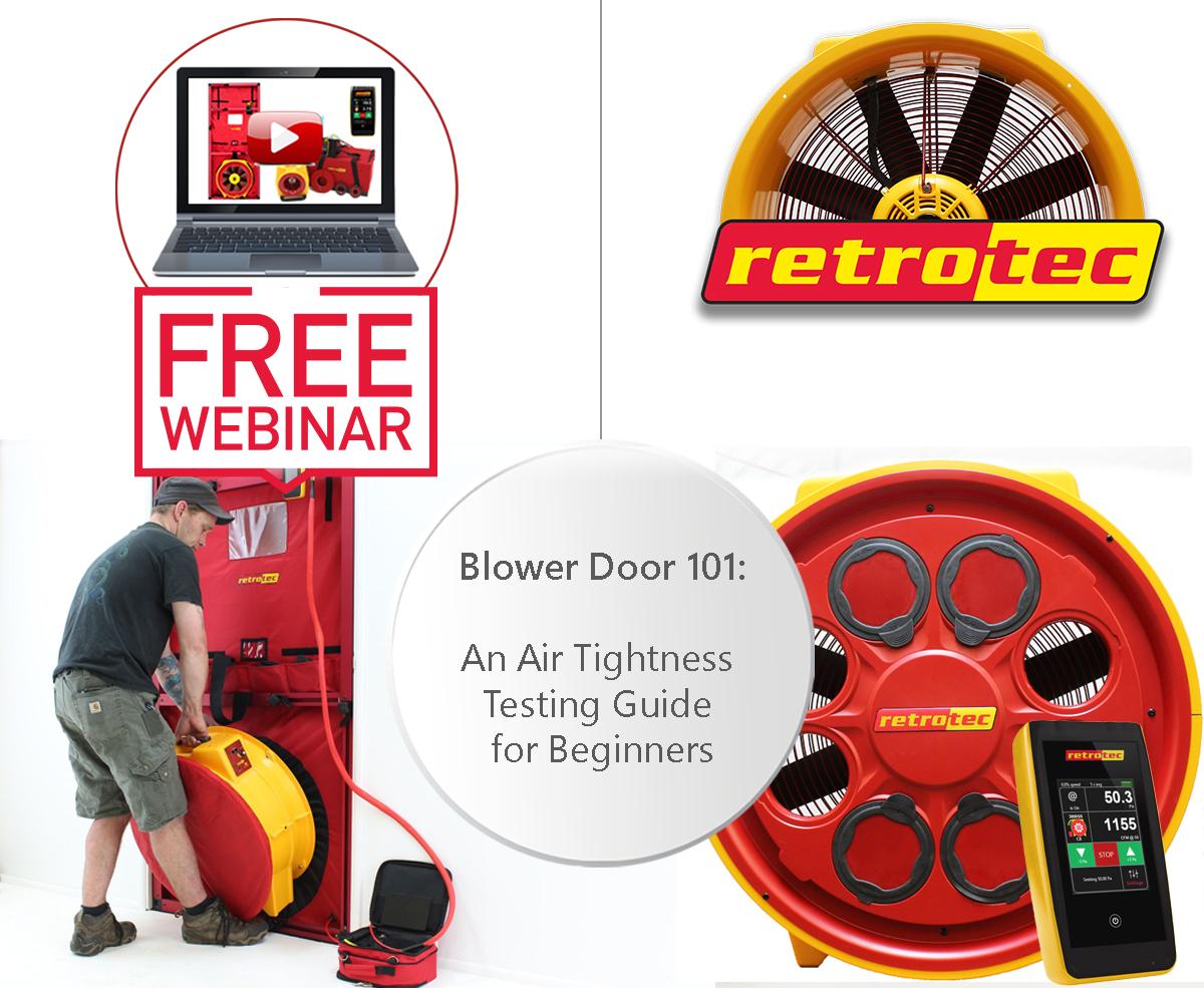Blower Door 101: an air tightness testing guide for beginners