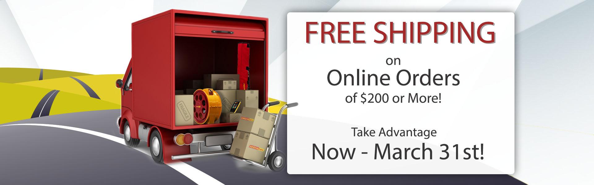 Free US Shipping