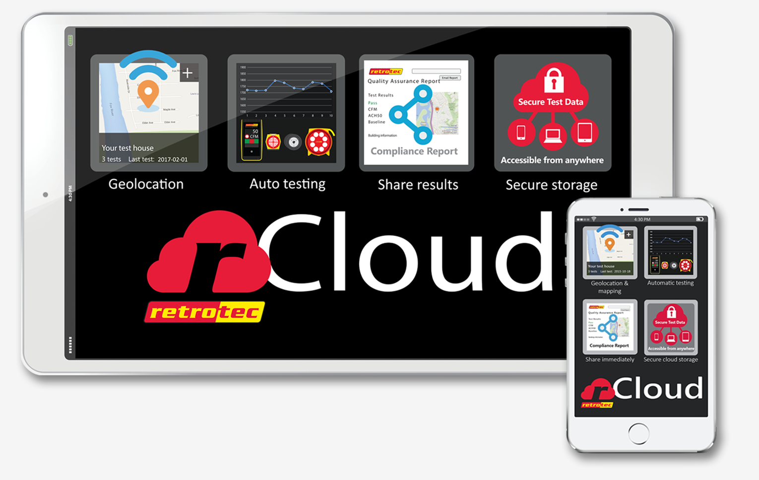 rCloud from Retrotec | Sign Up For rCloud
